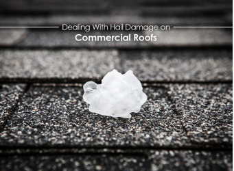 Dealing With Hail Damage on Commercial Roofs